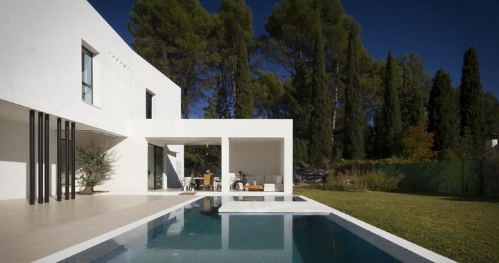casa con piscina granada