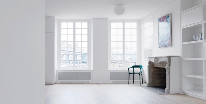 Loft minimalista en Paris1