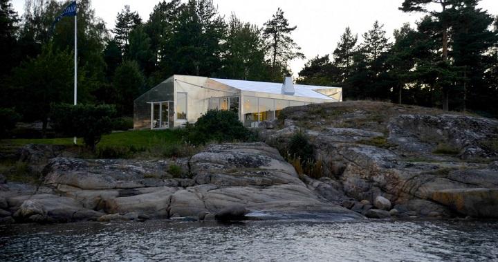 Cabana aluminio en Noruega
