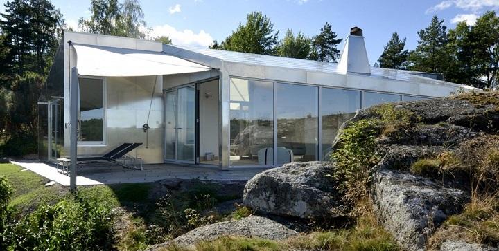 Cabana aluminio en Noruega1