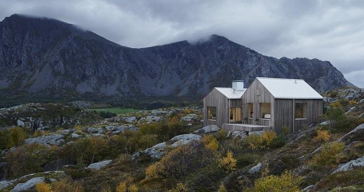 Cabana en Vega Noruega