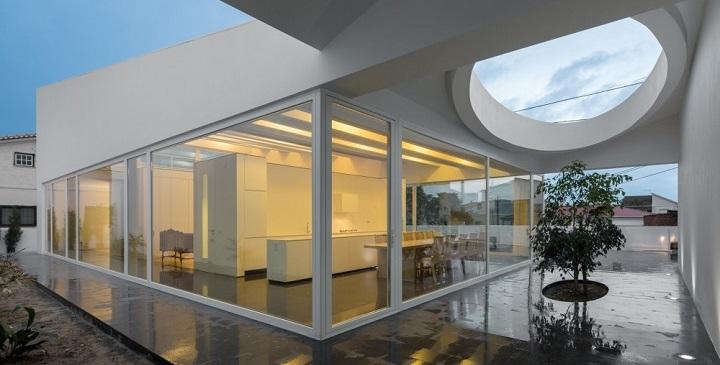 Casa circulos de luz Portugal1