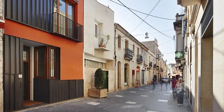 casa que potencia luz Barcelona2