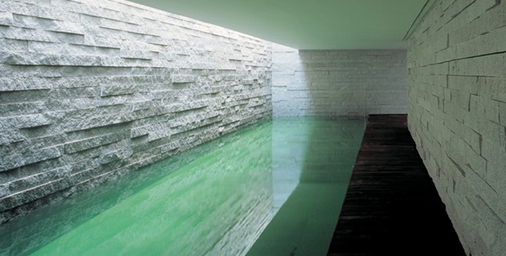 Casa con piscina cubierta Madrid1