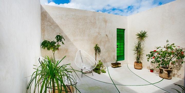 Casa del arbol piscina Mexico1