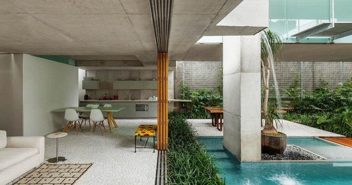 Casa de fin de semana en sao paulo for Casa con piscina fin de semana