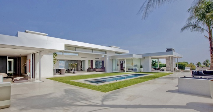 Casa piscina Beverly Hills