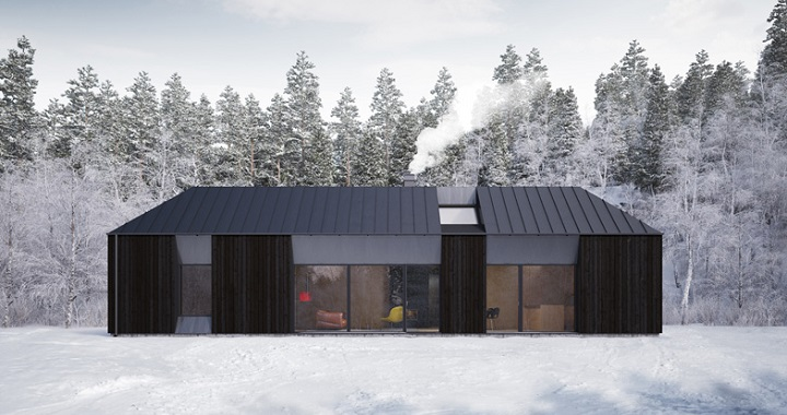 Casa prefabricada de estilo escandinavo - Casas prefabricadas nordicas ...