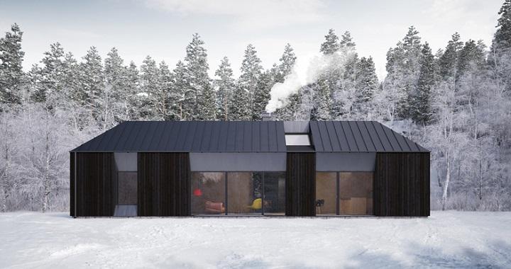 Casa prefabricada Tind