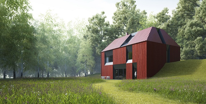 Casa prefabricada Tind1