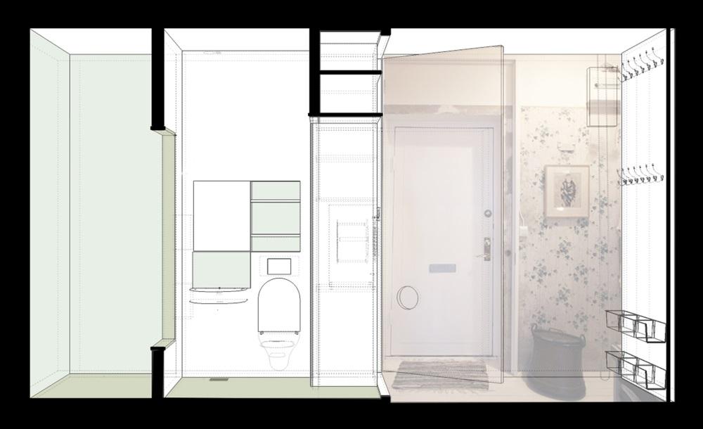 Decoarq arquitectura decorativa for Apartamentos de 35 metros cuadrados