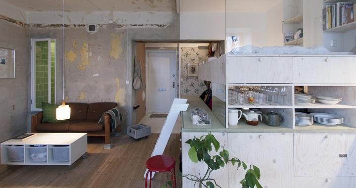 Apartamento de 36 metros cuadrados en estocolmo - Piso 30 metros cuadrados ...