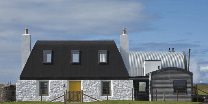 Casa Isla de Tiree Escocia1