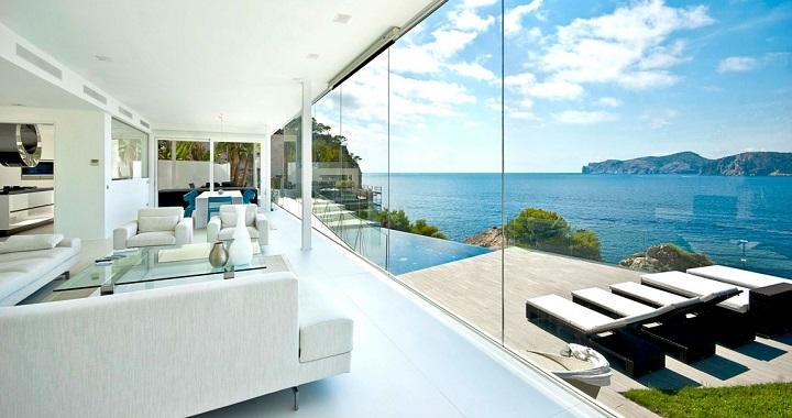 Espectacular casa con piscina en mallorca for Piscinas espectaculares