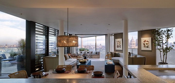 Tico de lujo en londres - Apartamentos lujo londres ...