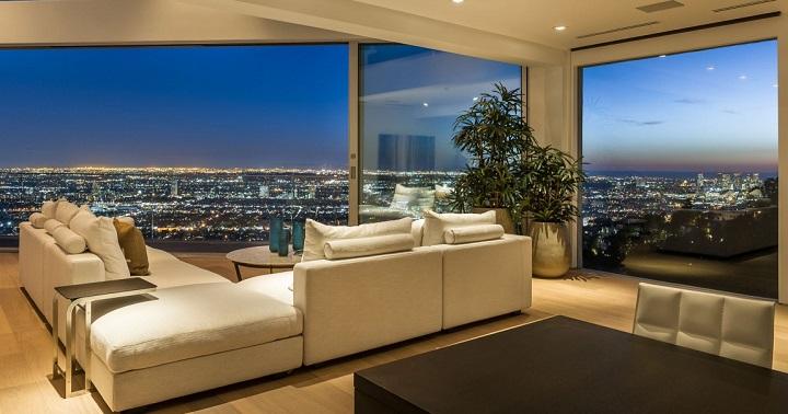 Sunset Boulevard apartamento vistas