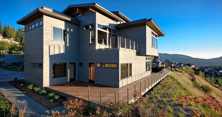 Casa contemporanea en washington for Piani casa contemporanea casa