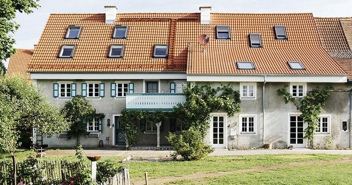 Casa de campo reformada en Alemania