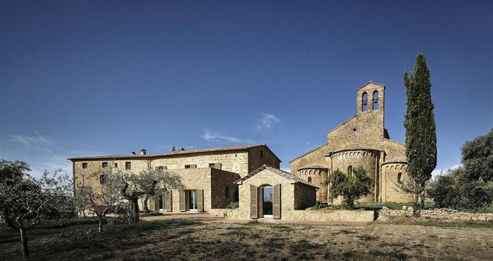 Casa de campo transformada Siena