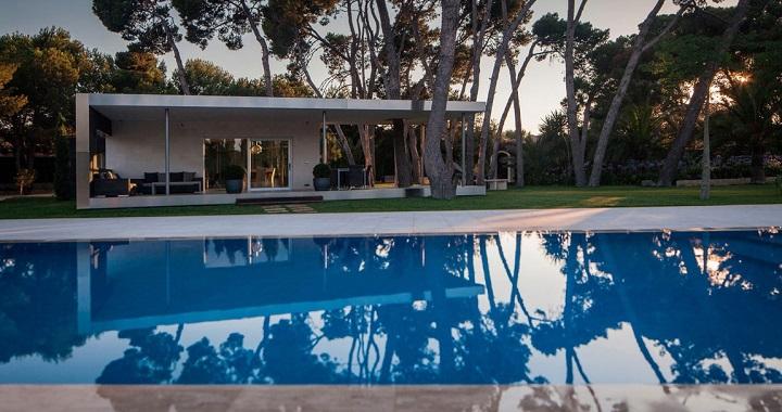 Pabellon y piscina en alicante for Piscina alicante