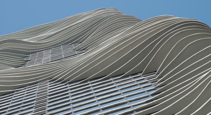 Un rascacielos acuático y sostenible en Chicago