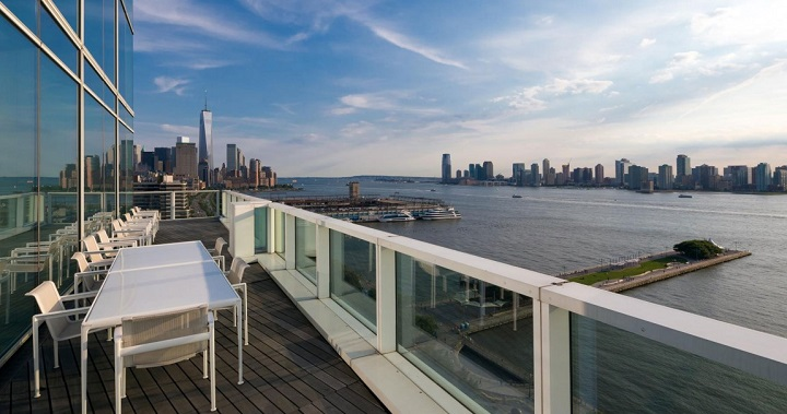 Atico vistas en Manhattan