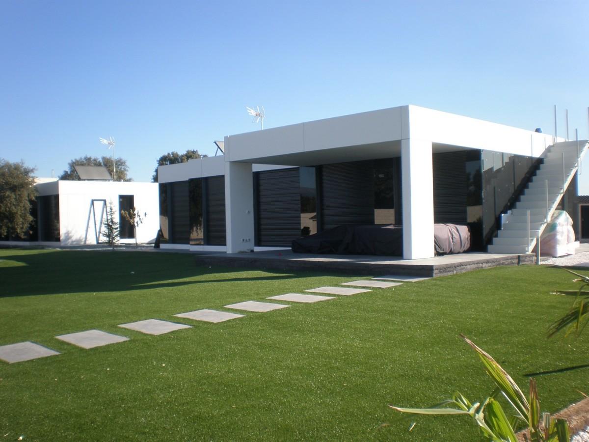 Decoarq arquitectura decorativa - Casas modulares acero ...