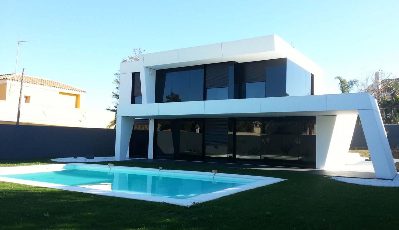 Decoarq arquitectura decorativa - Casas de diseno prefabricadas hormigon ...