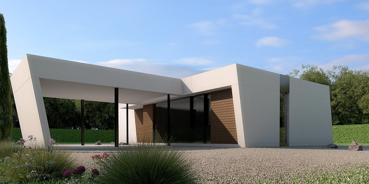 Casas prefabricadas de A-cero