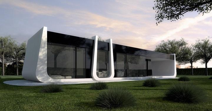 A cero casas modulares planos