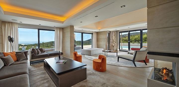 Decoarq arquitectura decorativa - Interiores de lujo ...