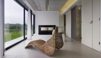 Moderna casa prefabricada en galicia - Casas prefabricadas en pontevedra ...