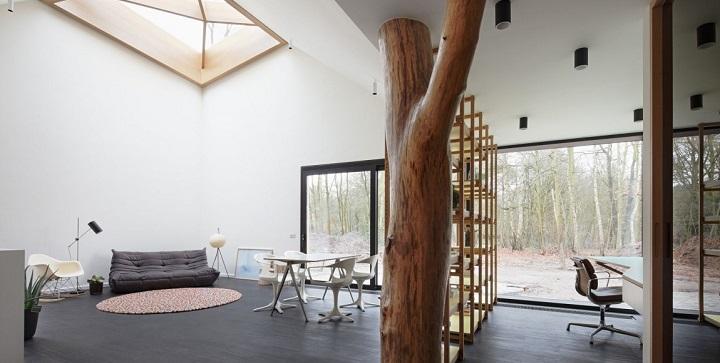 Casa en contacto con la naturaleza Belgica1