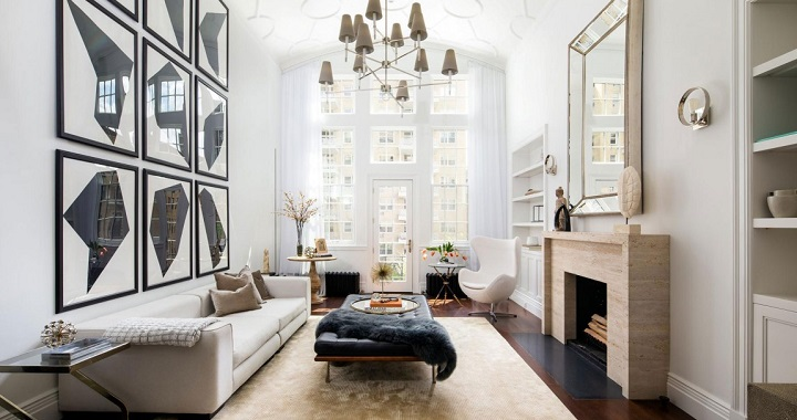 Elegante duplex en Nueva York