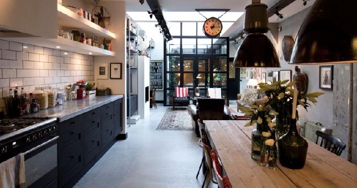 Amsterdam garaje convertido en loft