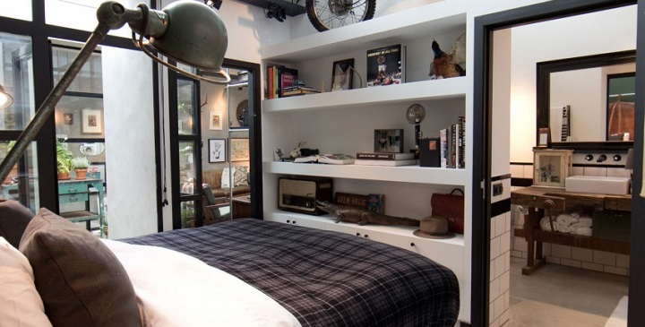 Amsterdam garaje convertido en loft1