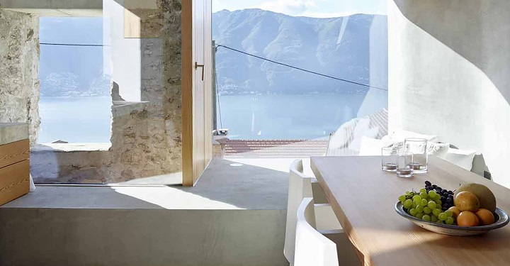 Casa piedra Suiza Scaiano