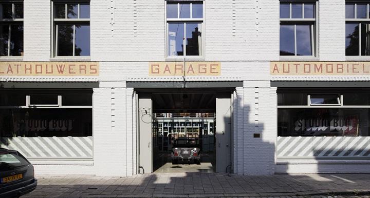 Garaje transformado Paises Bajos