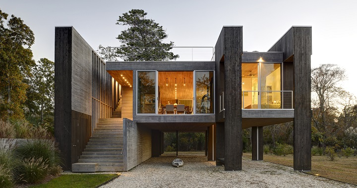 Casa sobre pilotes en el estado de nueva york - Casas en nueva york ...