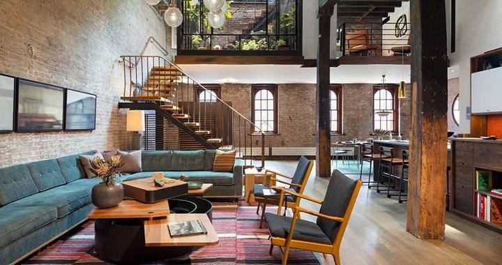 Loft industrial Nueva York