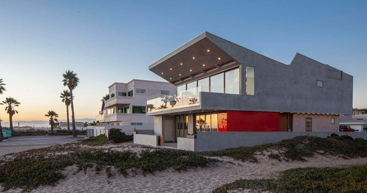 Silver Strand Beach House California