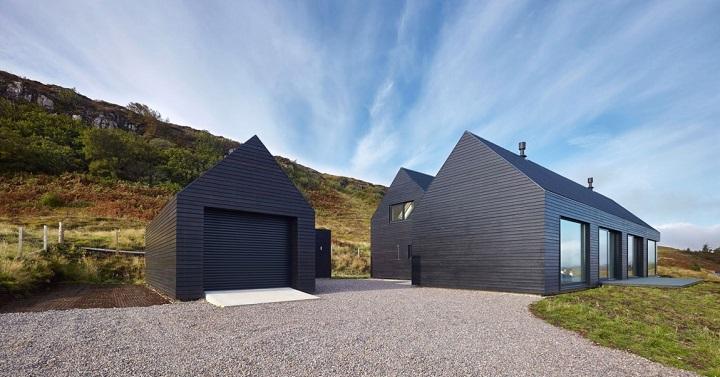 Casa en Colbost Escocia