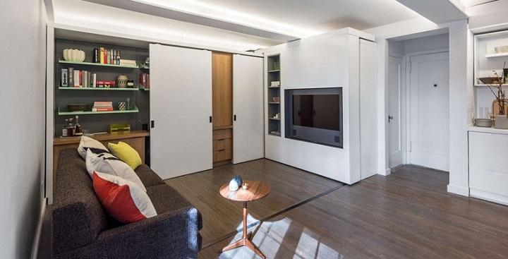 Micro apartamento Nueva York pared movil1