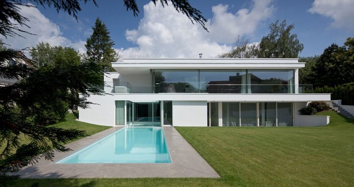 decoarq arquitectura decorativa On casas minimalistas con piscina