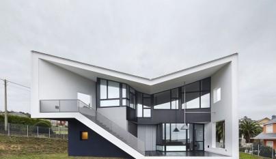 Moderna casa prefabricada en galicia - Casas prefabricadas a coruna ...