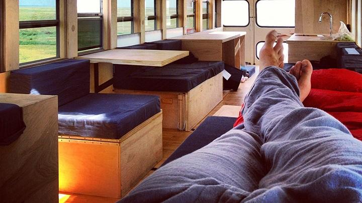 Restored Bus Mobile Home casa movil1