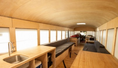Restored Bus Mobile Home2