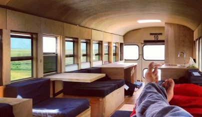 Restored Bus Mobile Home4