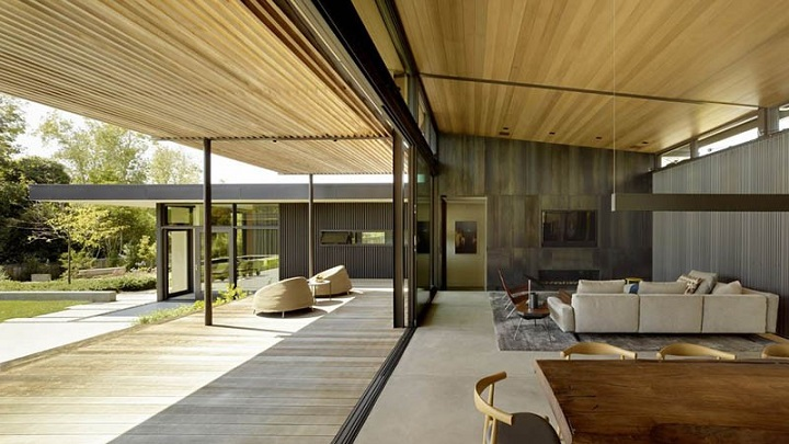 Mill Valley Courtyard Residence California1