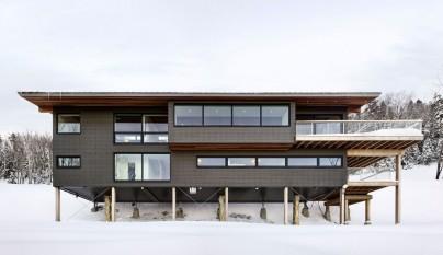 Laurentian Ski Chalet2